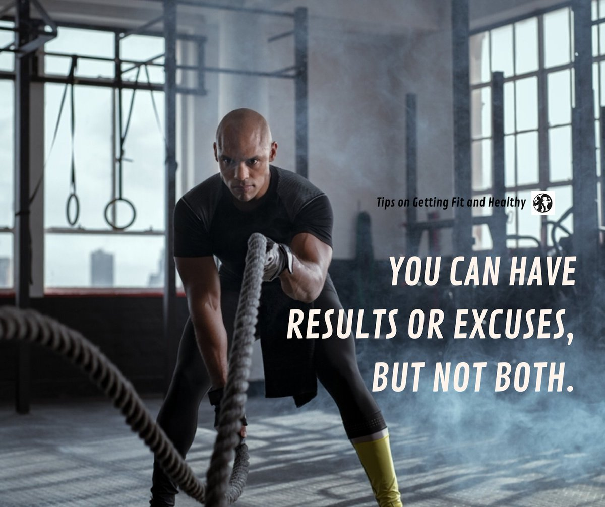 You can have results or excuses, but  not both.#health  #fitness  #fit  #fitspo  #workout  #cardio  #gym  #training  #healthychoices  #active  #strong  #motivation  #lifestyle  #crossfit  #fitfam  #fitnessmotivation  #strength  #functionaltraining  #gymlife  #instafit  #exercise  #healthy