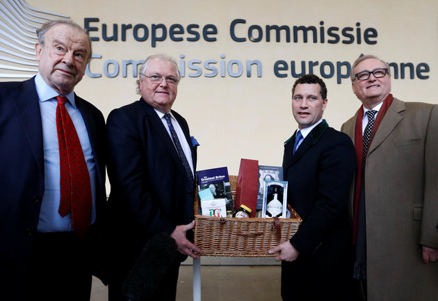 Brexiteers Bungle Attempt To Impress EU With A Hamper Of 'British' Goodies -  #Funny #comedy