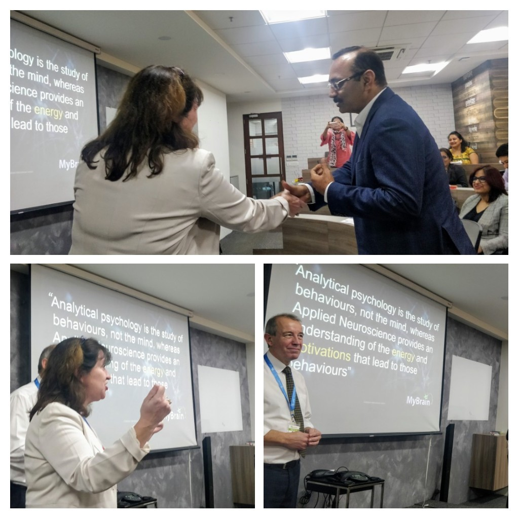 """At QualityKiosk, we had the privilege to listen to Alistair Schofield and Gill McKay, in a session """"Leveraging Neuroscience for Leadership"""" for insights into the world of #neuroscience   #qualitykiosk #digitalqualityassurance #softwaretesting <br>http://pic.twitter.com/lSwjcgnY6C"""