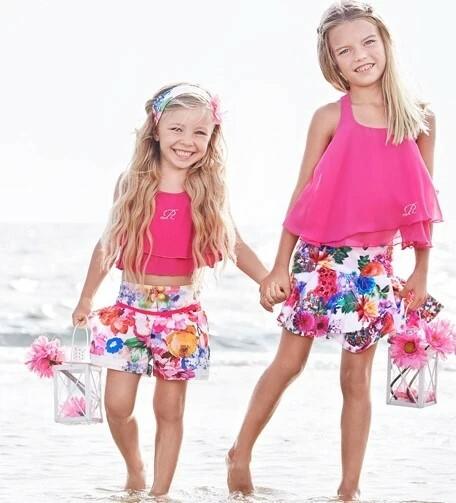 Girls Skirt in Bright Floral Patterns To buy -  Use code FLAT50 to get 50% Off  Follow Mini Raxevsky Australia for more!  #KidsFashion #GirlSummerDress #GirlDress #GirlWear #babyboy #baby #babygirl #love #kids #babylove #family #b…