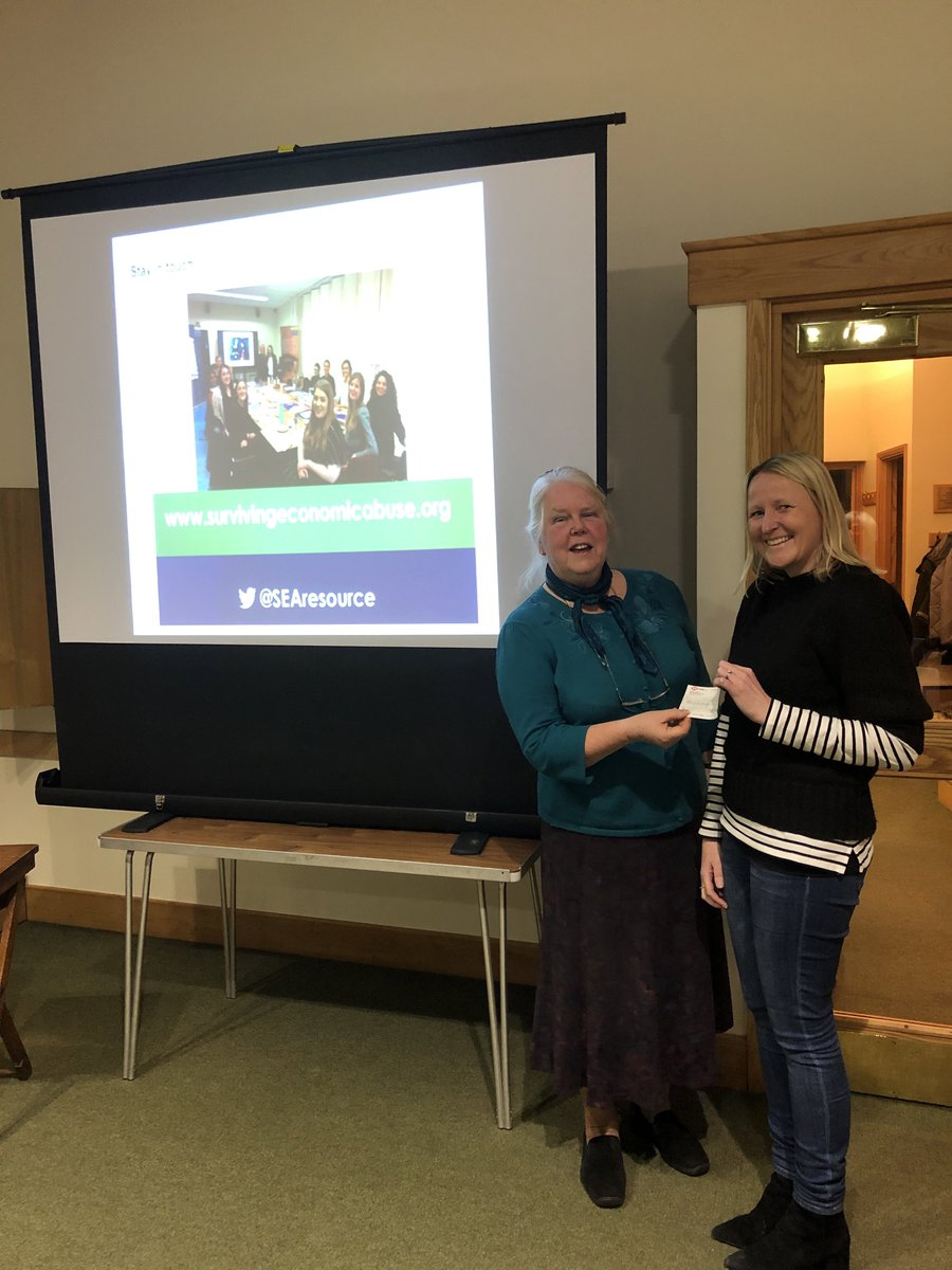 A talk by Dr Nicola Sharp-Jeffs of Charity SURVIVING ECONOMIC ABUSE to Soroptimist International Chelmsford. Come and join us!! #SoroptimistStandUpForWomen<br>http://pic.twitter.com/fznVXl6Mfw