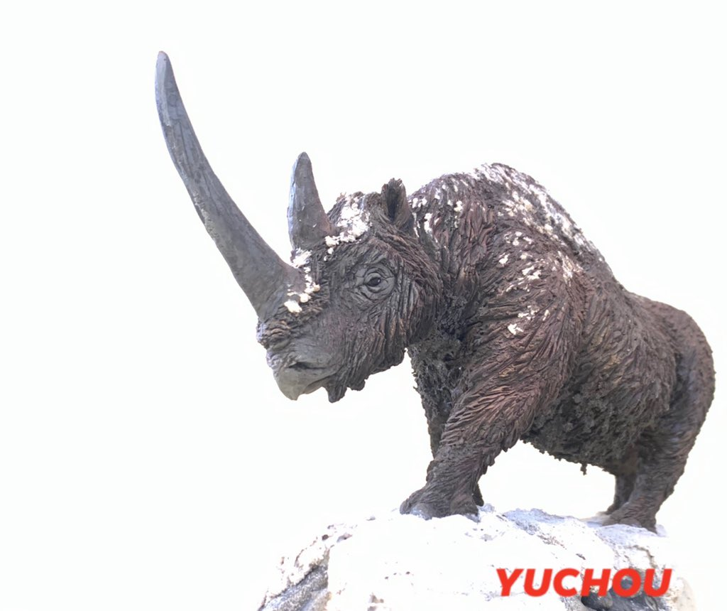 1/20 Woolly Rhinoceros,one off model by Spanish artist  : Miguel Borja Bersabe https://t.co/EZNR3O7LKf https://t.co/2o3hxdsuYE