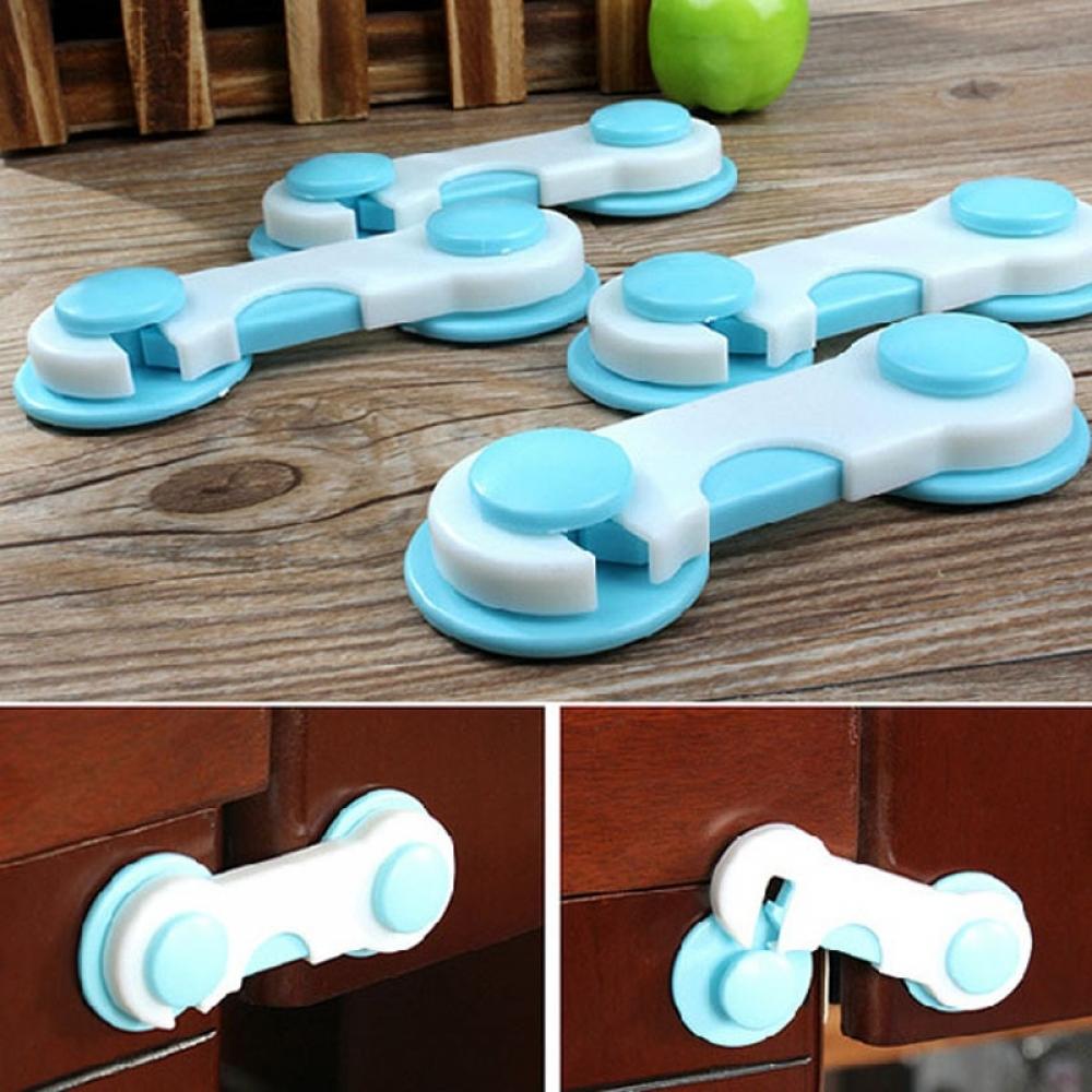 6/10 piece Door/Drawers/Wardrobe Safety Plastic Lock  #baby #babyclothes #babyaccessories #babyhealthcare
