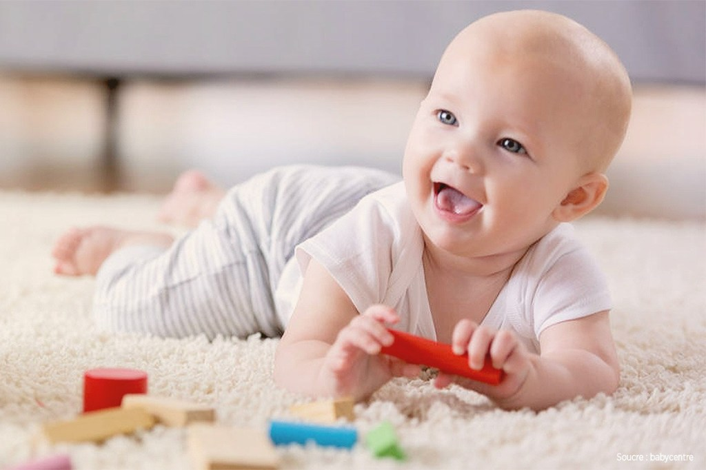 Infant Milestone Chart : One To Six Months #healthnews #milestonechart #parenting #baby #babycare