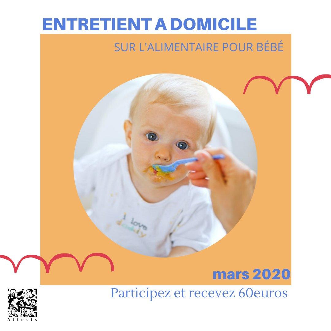 📢ANNONCE ENTRETIENT DEDOMMAGE📢  Entretient à domicile sur l'alimentaire pour bébé ⚠️Attention plusieurs critères sont recherchés.  Informations & inscriptions en MP ou sur :  Abonnez-vous pour plus d'annonces👍 #test #RT #rémunéré #BonPlan #babyfood #baby