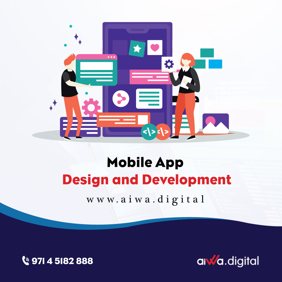 Want to create something great?  We at Aiwa Digital cater you with premium mobile app design and web development services.  #aiwadigital #mobileapplication #appdevelopment #mobileapps #appdevelopmentcompany #design2020 #dubai #uaebusiness pic.twitter.com/pjUl99M9sI
