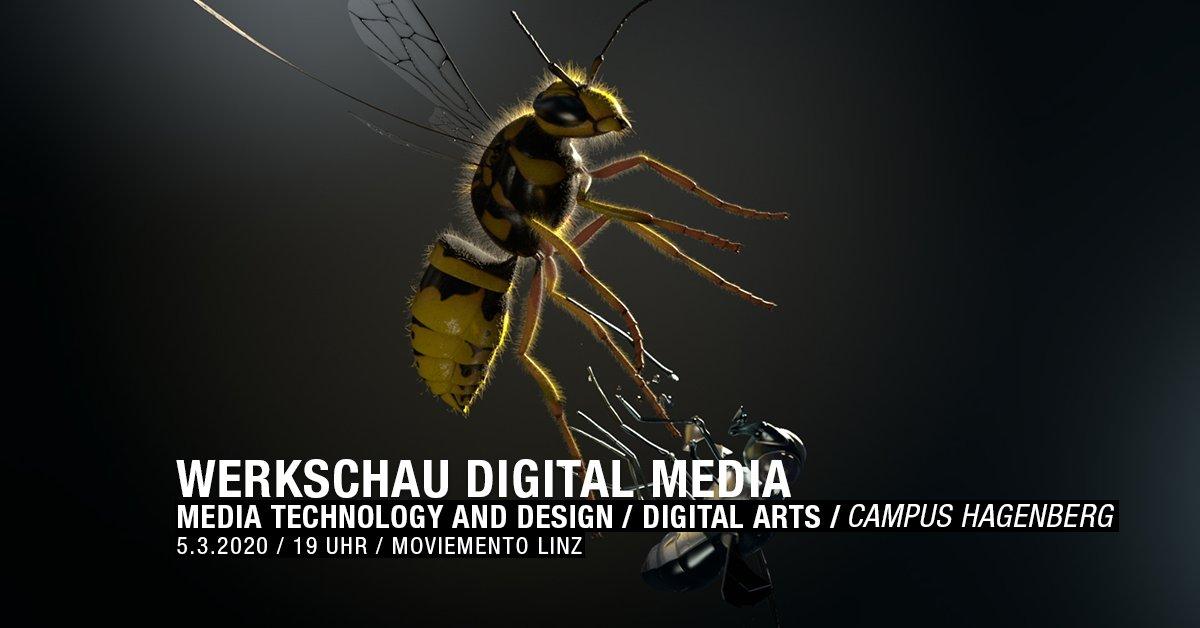 #SaveTheDate Am 5.3. laden wir wieder zum Best-of Screening des filmischen Schaffen unserer Studierenden ein ins @moviemento_linz Kino ein. Eintritt frei! http://bit.ly/fhooe-hgb-werkschaudigitalmedia2020… #screening #animation #film #mediadesign #digitalmedia #studymedia #fhooe #campushagenberg #freeentrypic.twitter.com/8T3NMqmDNQ