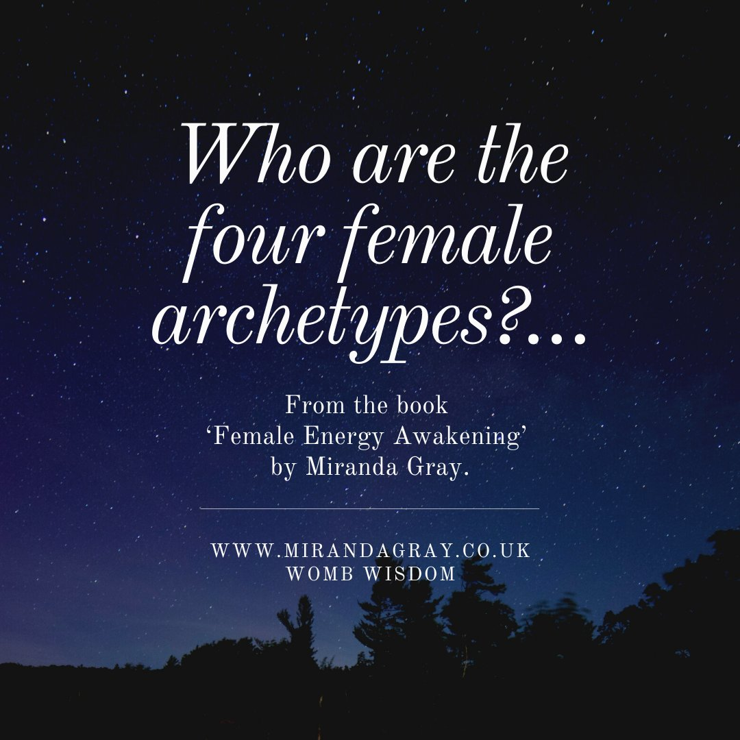 The four female archetypes of Maiden, Mother, Enchantress and Crone are universal energies that are embodied by all women. Recognising these archetypes frees us from our limitations and empowers us to explore our authentic femininity and express these energies into the world.pic.twitter.com/OZCXaSEIdl