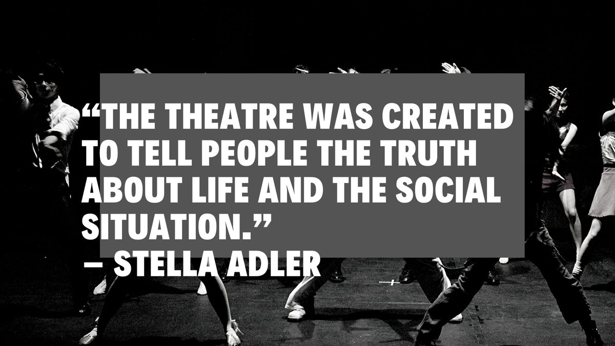 This is why we're here. #Theatre #Nottingham #TheArts