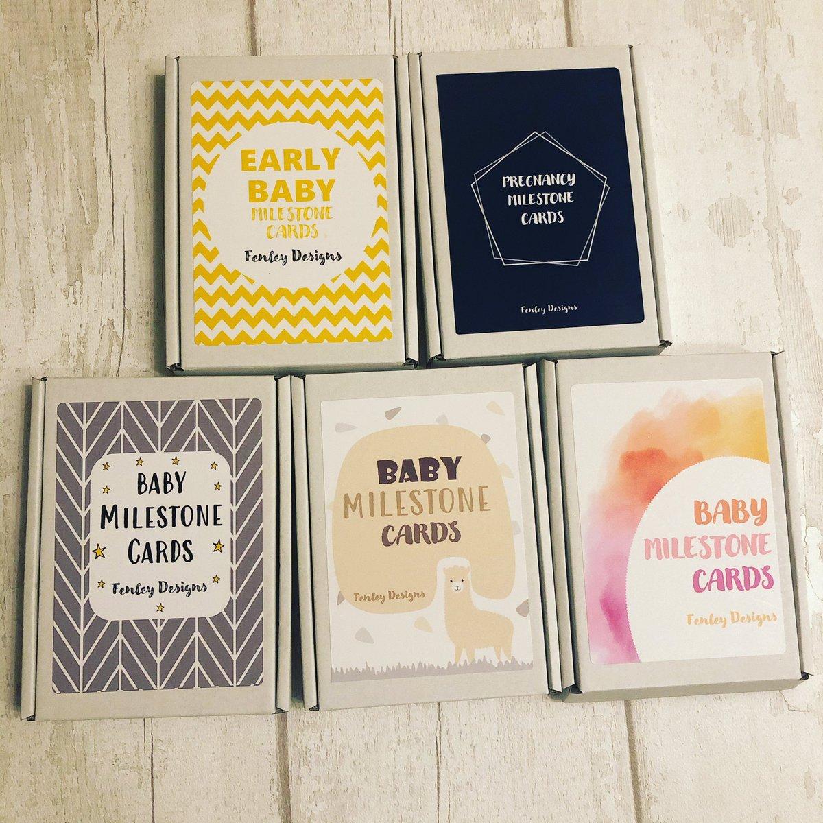 Today's orders are ready to go! 😍   #Milestonecards #etsy #smallbusiness #smallbusinessuk #ivf #pregnancy #baby #prematurebaby #rainbowbaby