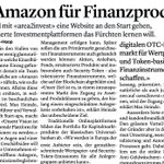 "Image for the Tweet beginning: ""The Amazon for #financial products"""
