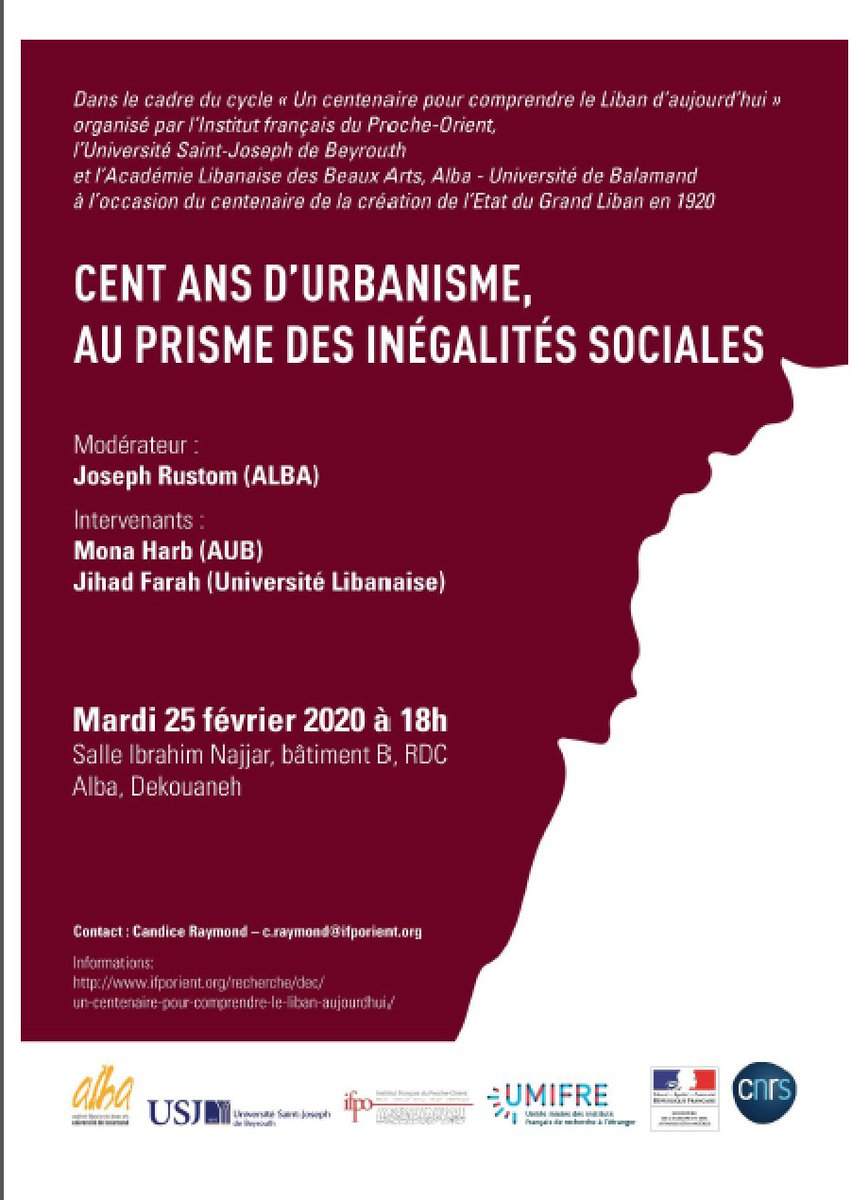 Mona Harb On Twitter Cent Ans D Urbanisme Au Prisme Des Inegalites Sociales Or How Today S Crisis Is Profoundly Rooted In Colonial And Post Colonial Histories Of City Making And Spatial Production Come Listen And