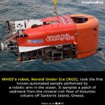 Image for the Tweet beginning: Did you know? #InceptiveMind #whoi #robot
