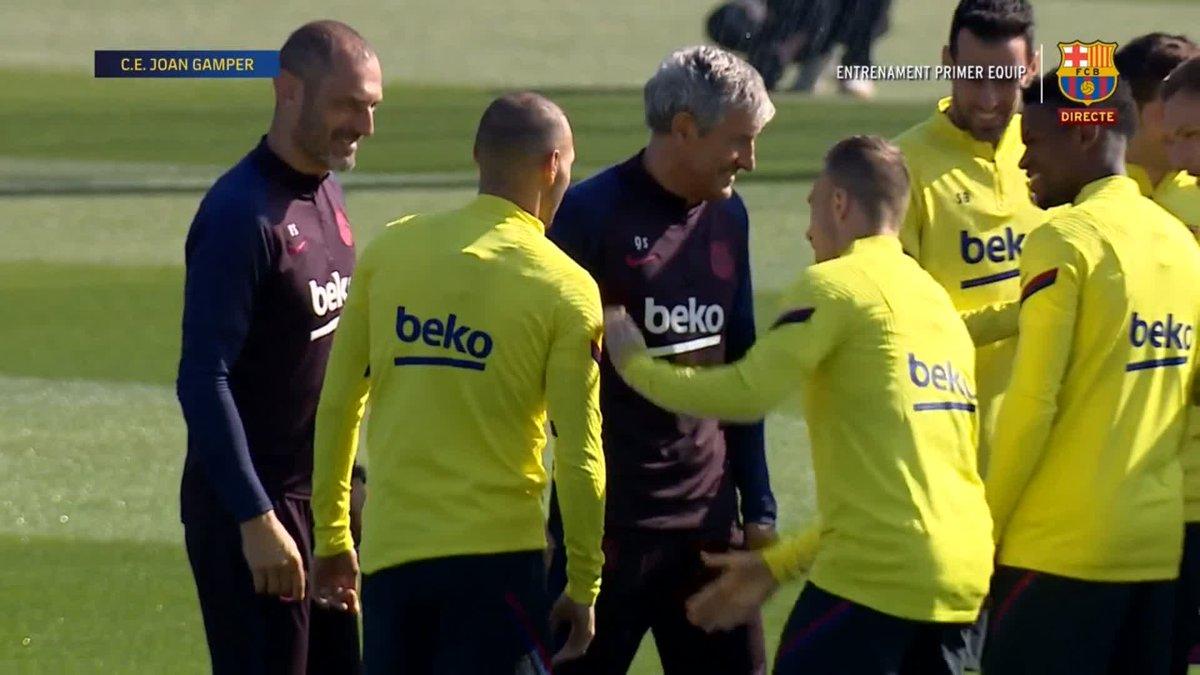 Barça : premier entraînement pour Martin Braithwaite