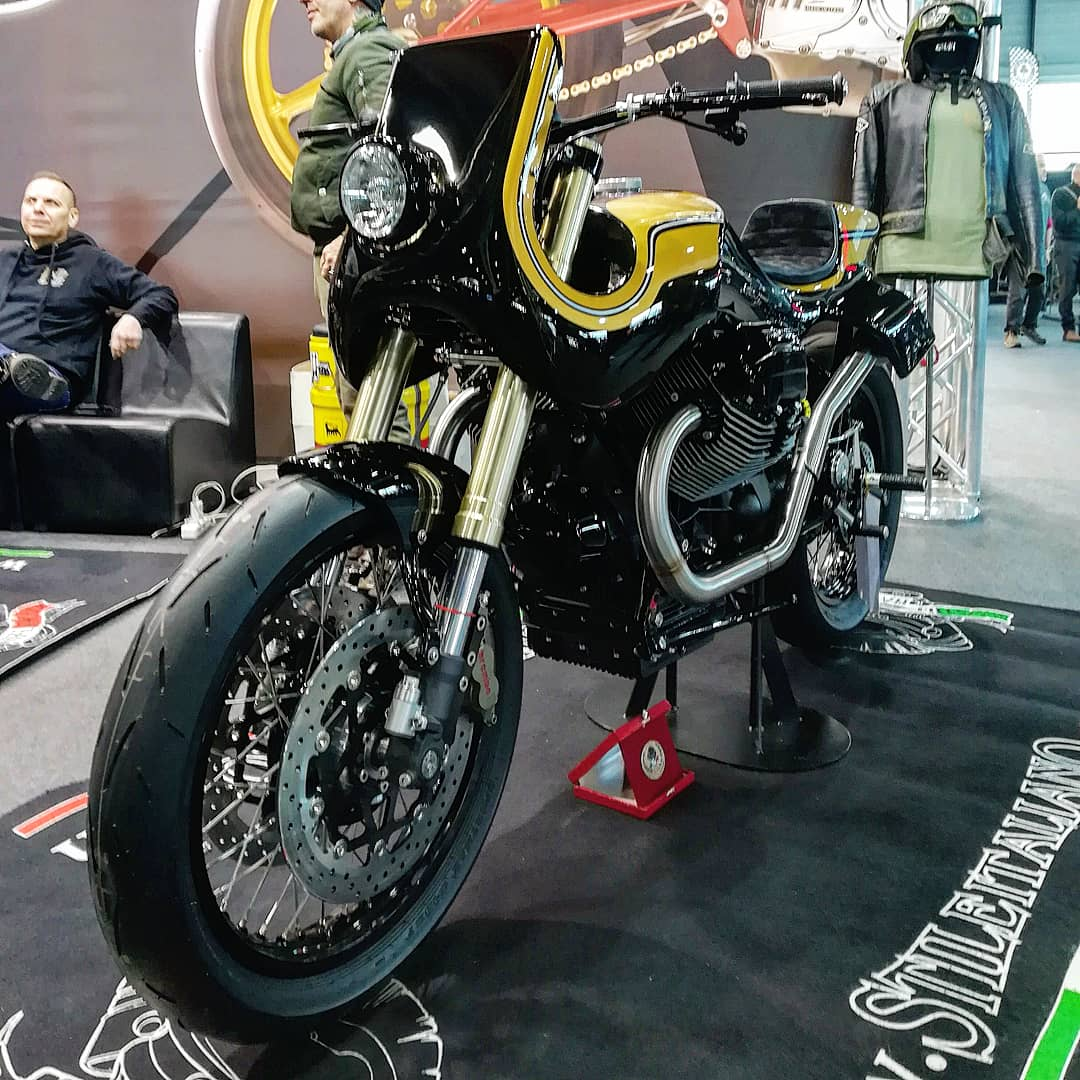 Moto Guzzi 850 Urban Racer Stile Italiano SRL  #motoguzzi #stileitaliano #MotorBikeExpo #Verona #MBE2020 #caferacercultpic.twitter.com/b0myVsmDmV
