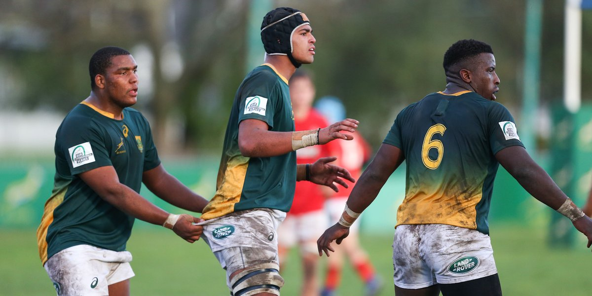 ERSyBZWWsAAMZvM School of Rugby | Roux hails successful Georgian tour for unbeaten SA u19s - School of Rugby