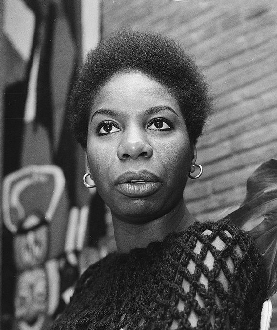 Nina Simone was born on this date February 21 in 1933. Photo by Ron Kroon. #OTD #BlackHistoryMonth
