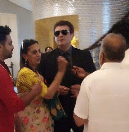 His New Look   Be Safe Boxoffice KollyWood Samrat Is Coming To Blast #Thala  #Valimai #ValimaiDiwalipic.twitter.com/dWd5GkdwNx