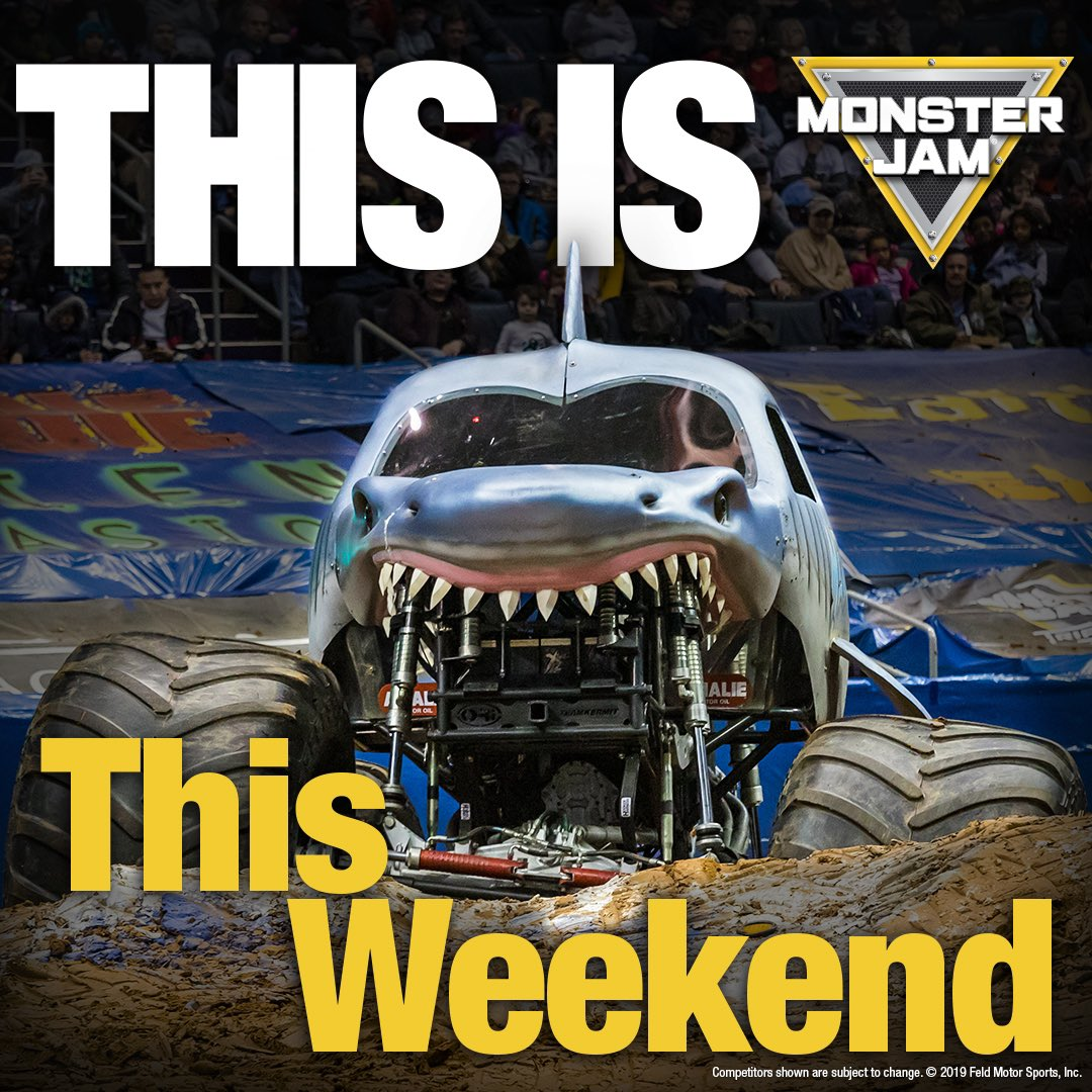 Are you ready?! 🚜: marlins.com/monsterjam