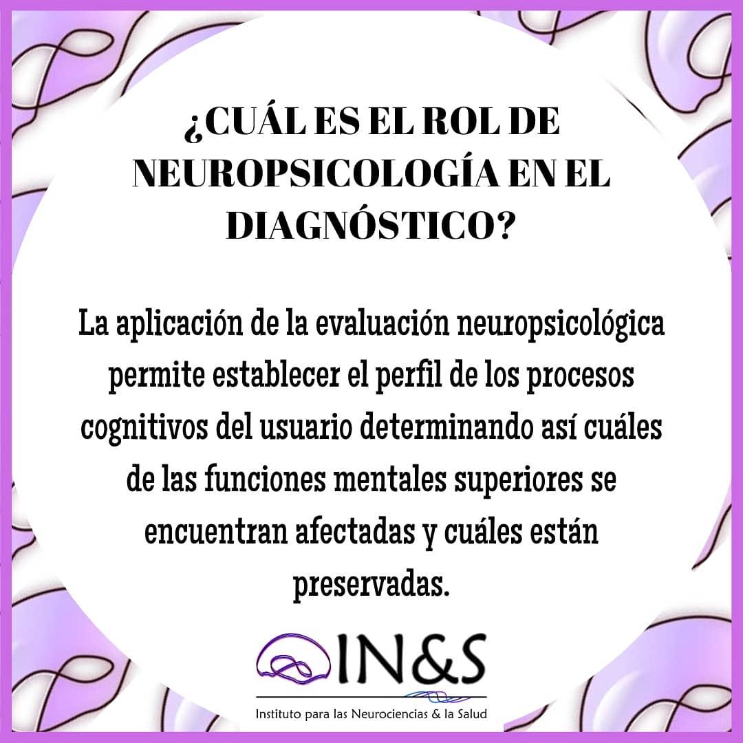 Continuamos con el especial de #INYSinforma sobre #demencias.  Hoy hablamos del papel de #Neuropsicología como apoyo en el proceso de #evaluacion y #diagnostico.   #NeuroParaTuVida #Neurociencias