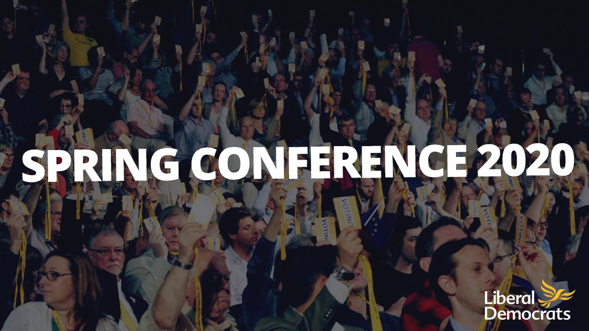 Spring conference is fast approaching! Check out our rundown of all the policy motions well be debating > libdems.org.uk/s2020-conf-mot…