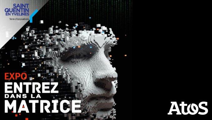 Entrez dans la matrice ! 👉 La nouvelle exposition sur l'#IA conçue par @Scube_CST...