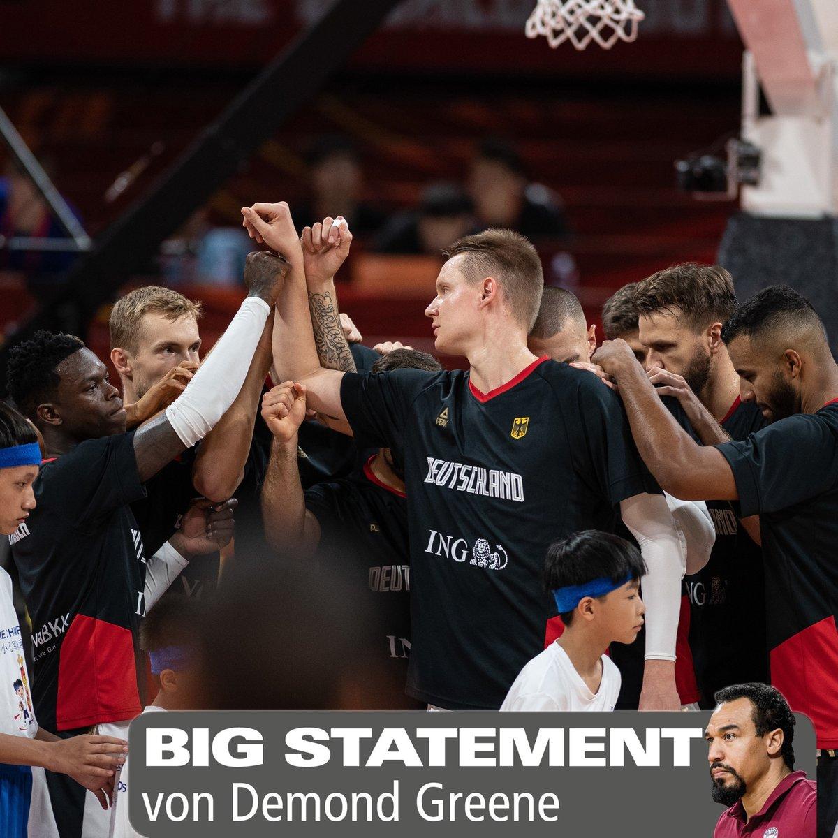"""#BIG Statement: """"Wir brauchen mehr Leadertypen!"""" - BIG #Experte @GreeneDemond über die  Nationalmannschaft.   Das vollständige #Statement gibt's auf unserer Facebook- & Instagram-Seite:   FB: http://bit.ly/Statement_Greene…  IG: http://bit.ly/Statement_Greene_IG…pic.twitter.com/XTaeto0MUf"""