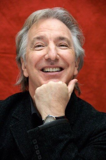 Happy Birthday Alan Rickman, our perfect Severus Snape! He would've been 74 today.   Gone, but not forgotten. Raise your wands /*
