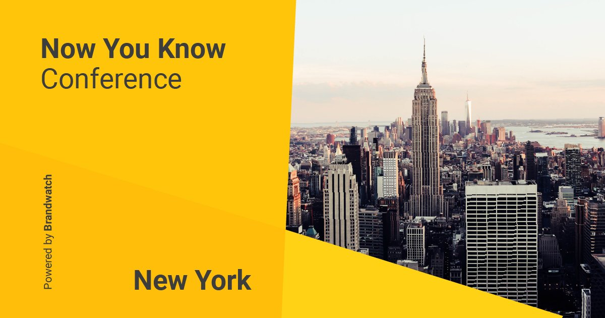 🇺🇸 Now You Know is back and we're heading to NYC 🇺🇸  Register your interest below and be the first to hear about our speakers and talks.  We can't wait.  https://t.co/ial02bWvR1 https://t.co/tPqdIHn8nR