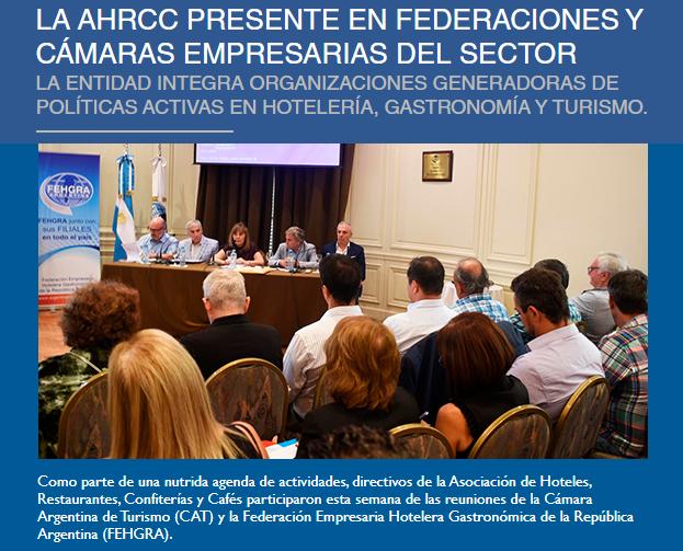 La Asociación Informa 563: Directivos de la #AHRCC participaron esta semana de reuniones en @fehgra y la @camaradeturismo. Toda la info del sector aquí  #Hoteles #Restaurantes #Confiterias #Cafes #Bares #Turismo #BuenViernes #Gastronomia