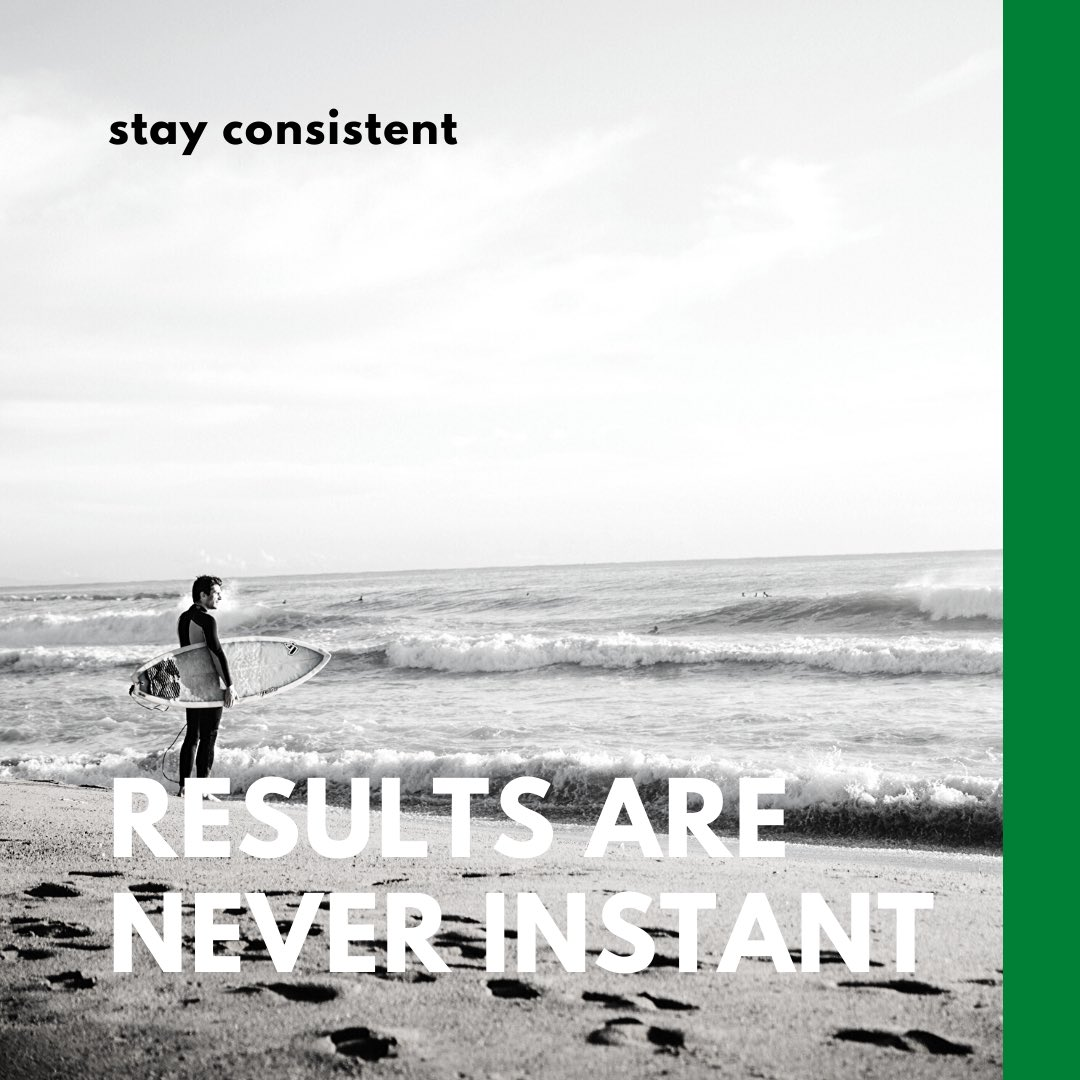 All to often businesses stop posting on their social media because they aren't seeing immediate results. Be patient. Keep posting. : #fattorimedia #instagood #socialmediamarketing #jupiterfl #websitedesign #beconsistent #results #surfphotography #brandingpic.twitter.com/ZXR1djjzsG