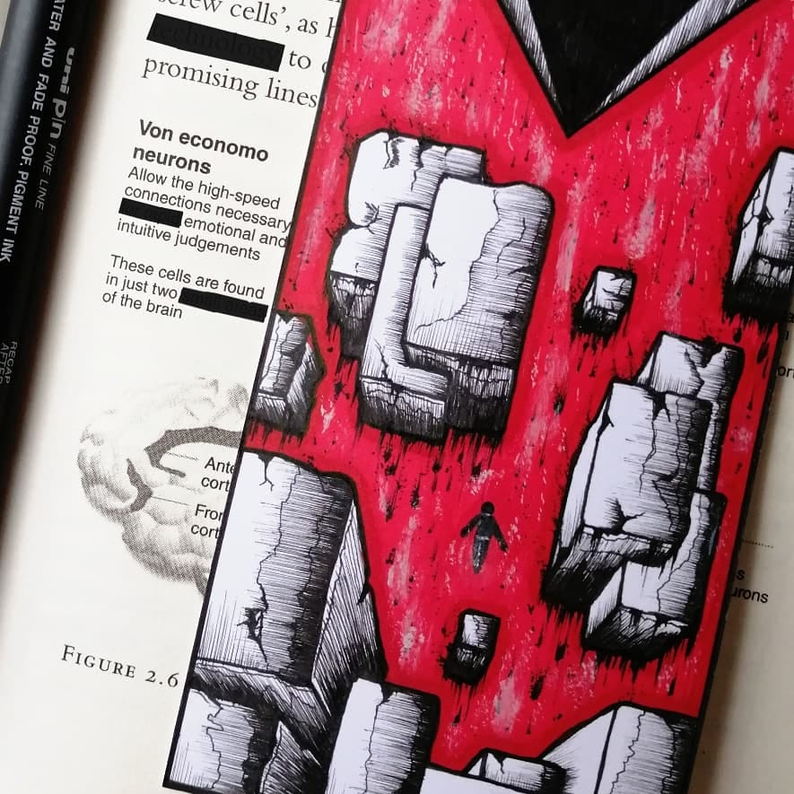 This week's #FanArtFriday post is dedicated to Mostafa Alzein's brilliant Control bookmark. How cool is this?! Thanks for sharing... #ControlRemedy #505Games 🎨🎮