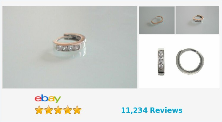 Brand New Men's SINGLE 925 Sterling Silver Cubic Zirconia Huggie Earring - Boxed | eBay #sterlingsilver #gents #mens #hoop #huggie #earring #gifts #accessories #jewellery #gifts #giftideas #giftsforhim #giftshop #jewelry #fashion #menswear #mensfashion