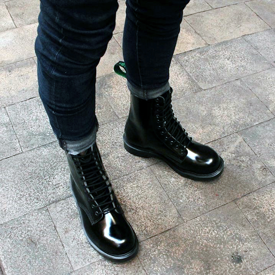 Eye Derby Boot from our Steel Toe
