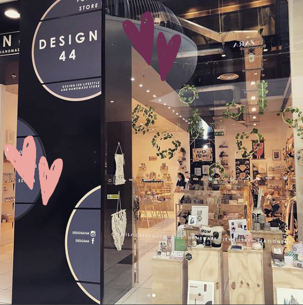 Are you missing Design 44? Don't worry, they will be back open in March with their exciting new store! 🎉