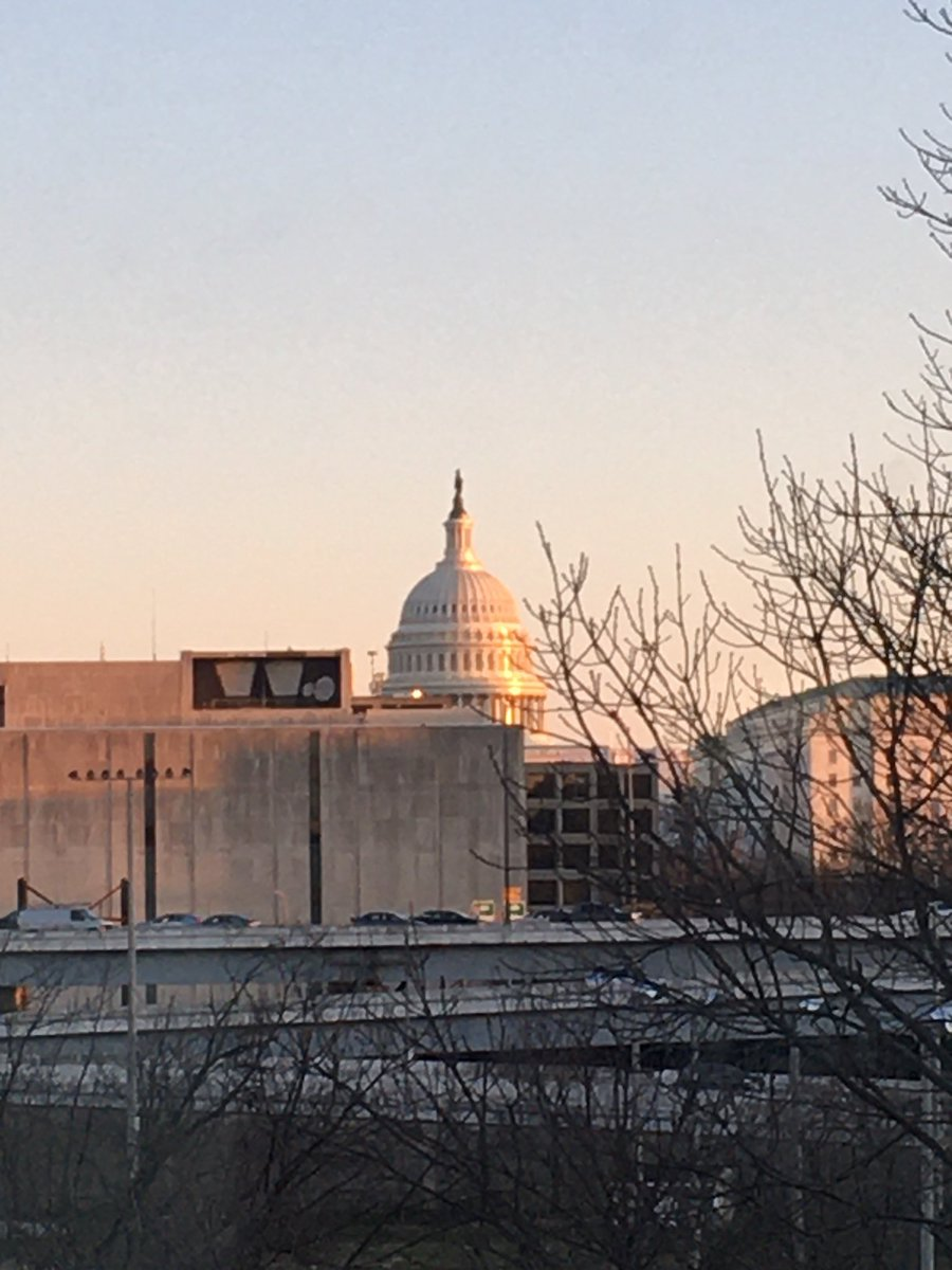 View of Capitol Hill from our hotel. Excited about our tour of Congress this morning.pic.twitter.com/pnmBCOmMgY