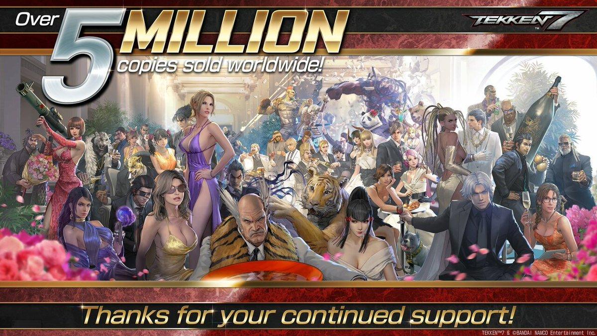 Tekken 7 Celebrates 5 Million Copies Sold With Updated Character Artwork https://www.pushsquare.com/news/2020/02/tekken_7_celebrates_5_million_copies_sold_with_updated_character_artwork… #Repost #BandaiNamco #PS4 #Tekken #Salespic.twitter.com/14n0V8kCTz
