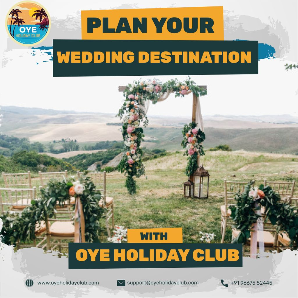 Plan your Destination Wedding with Oye Holiday Club !  To book you travel  Visit: https://buff.ly/3aSdveV  #travel #weddingphotography #photography #travelgram #love #instagood #instatravel #traveling #picoftheday #travelling #instagram #landscape #destinationwedding #weddingpic.twitter.com/TJXghfY60x