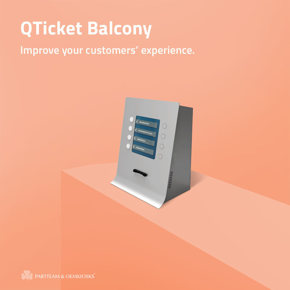Practicle, simple and functional! The QTICKET BALCONY kiosk from PARTTEAM & OEMKIOSKS allows each user to choose the service they want.   Know more: https://swki.me/zmkUzTmG   #oemkiosks #partteam #nomyu #yportal #quiosque #kiosk #sinaletica #signage #mupipic.twitter.com/NvFo870ZQU