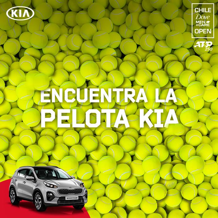 [CONCURSO] Encuentra la pelota #Kia y participa por entradas para el #ATP @chile_open Santiago🎾  - Court Central San Carlos de Apoquindo - Lunes 24 al domingo 1 de marzo  #Kia Auspiciador y Auto Oficial del Torneo🚘 https://t.co/RTGG2alDeh