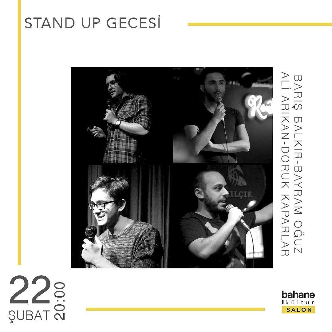Buna gelin, herkesin en iyi 20 dakikası gerçekten bayağı iyi..  22 Şubat cumartesi 20.00  Kadıköy Bahane Kültür Gişede ve 25₺ . . . . #kadıköy #bahane #bahanekültür #bilet #gişe #sahne #etkinlik #standupgecesi #standup #standupkomedi #tiyatropic.twitter.com/jPRHtd1OuJ