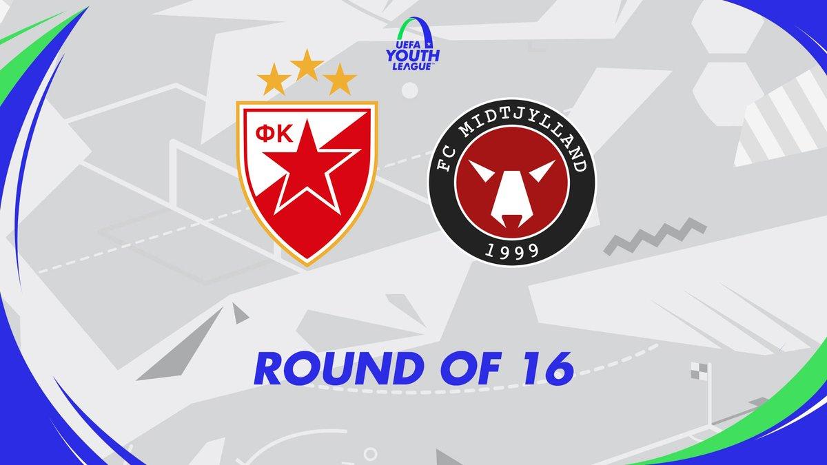 📅 Opgøret mod  @crvenazvezda_en på udebane i @UEFAYouthLeague er nu fastlagt.   Kampen spilles onsdag den 4. marts kl. 16.00 på Voždovac Stadium i Beograd.   Info om muligheden for at se kampen følger #uyl