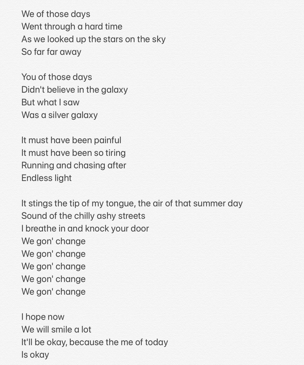 Rin On Twitter Bts Inner Child Lyrics English