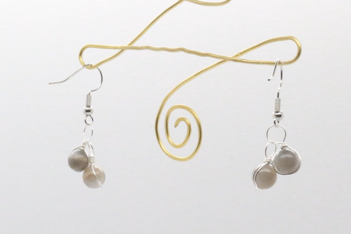 Excited to share this item from my #etsy shop: Short Dangle Moonstone Earrings - Sterling Silver Hook - Unique Jewelry for Her - Gifts for Mom - Silver Moonstone Accessories etsy.me/2HGzLuD
