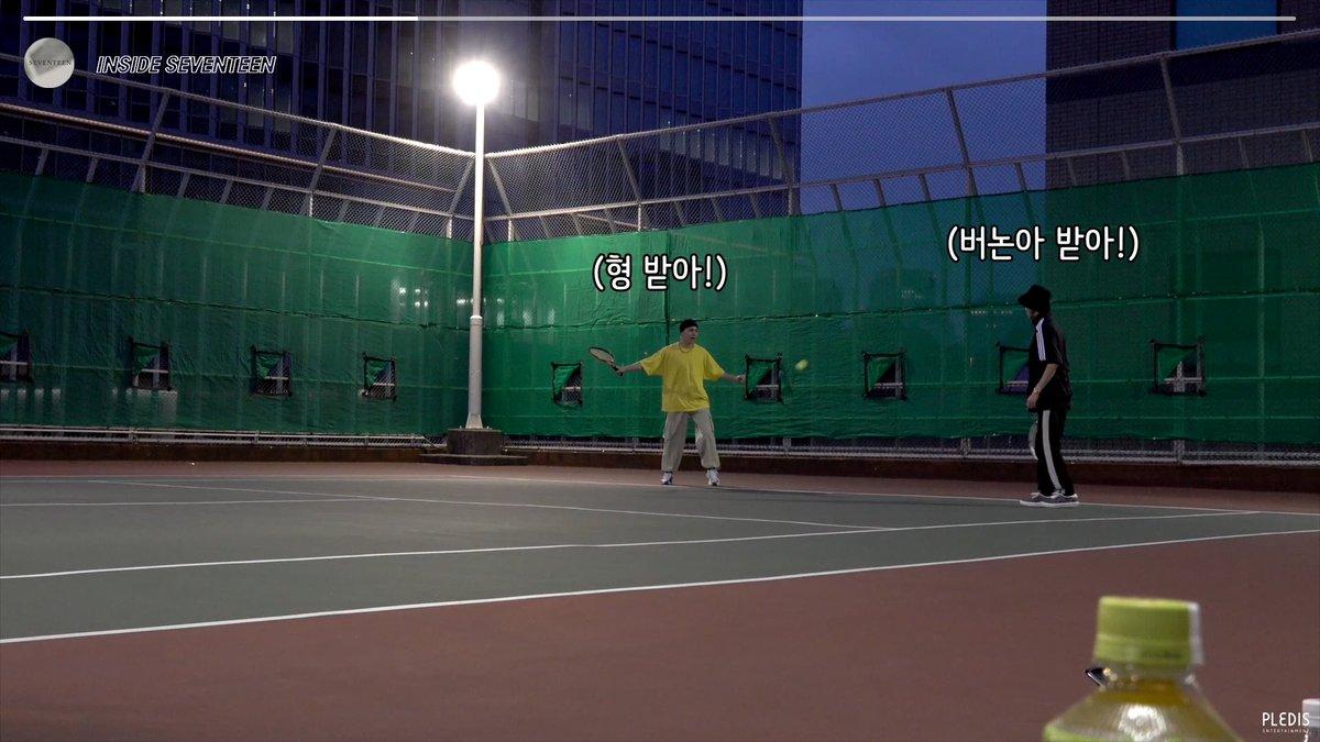 [INSIDE SEVENTEEN] 세븐틴의 즐거운 테니스 시간🎾 (SEVENTEEN's Tennis Time🎾)  ▶️   #세븐틴 #SEVENTEEN #인사이드_세븐틴 #INSIDE_SVT