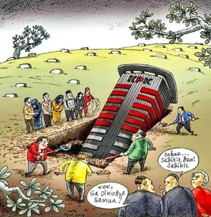 Bagaimana mau ngebongkar mega korupsi kalau @KPK_RI  nya sudah mau dikubur. #BongkarMegaKorupsi  #BongkarMegaKorupsipic.twitter.com/jUjwKagUqD