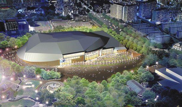 【朗報】名古屋市の名城公園に横浜アリーナに匹敵するアリーナ施設が2025年に完成します!1万5千人収容規模です!わーい🙌