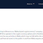 Image for the Tweet beginning: The Malta Financial Services Authority