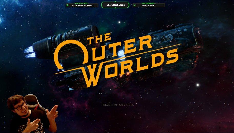 Pues 5 min. que me prepare y vamos a comenzar el vicio del finde, a ver si nos vamos al final de #TheOuterWorlds <3  ⬇️  ⬇️