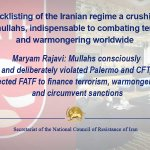 Image for the Tweet beginning: RT.@Maryam_Rajavi-  Mullahs consciously and deliberately violated